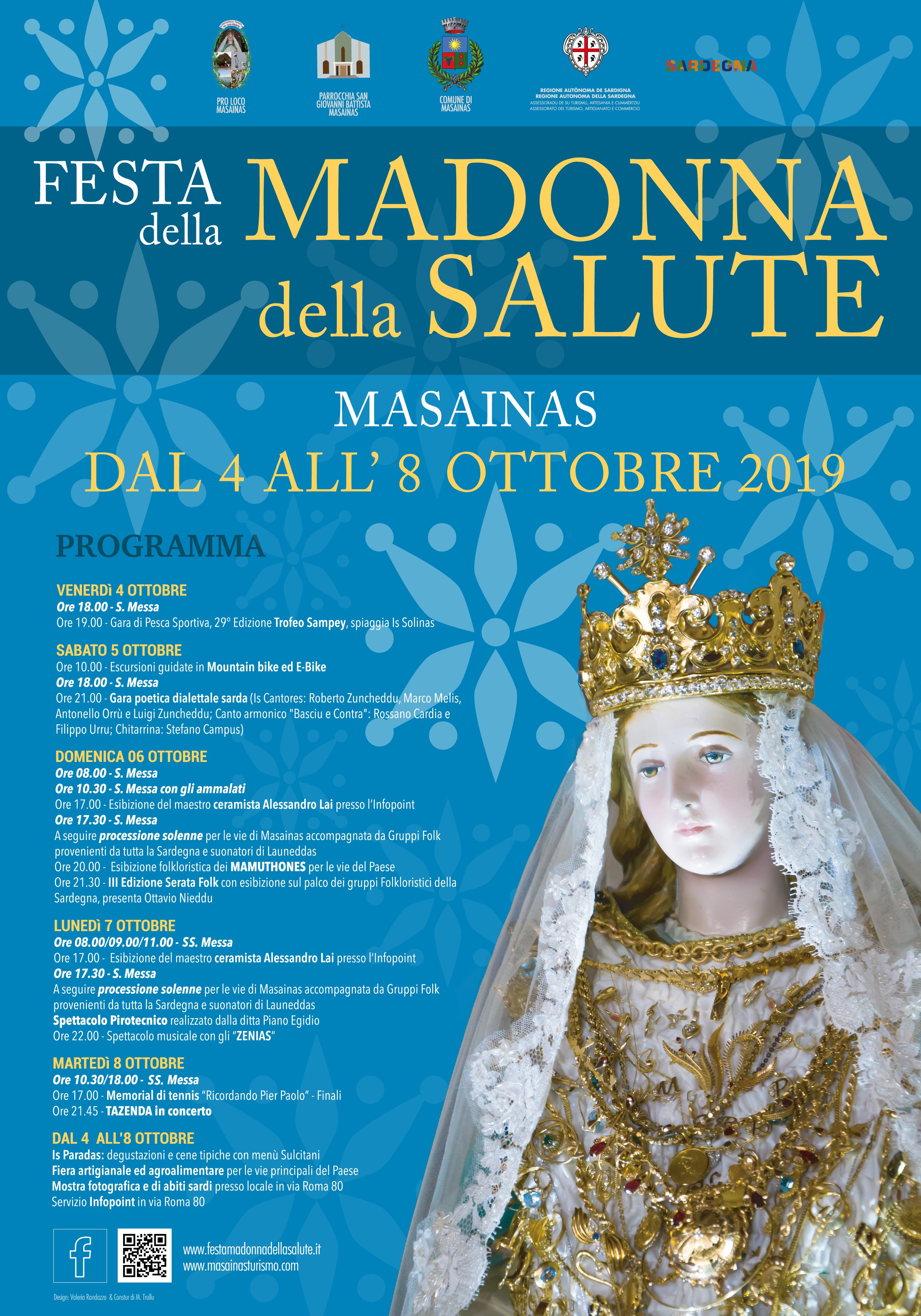 Programma Festa Madonna della Salute 2019